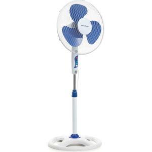 Bílý ventilátor na podstavci InnovaGoods, ø40cm
