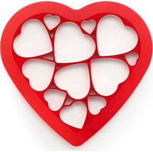 Červené vykrajovátko Lékué Hearts