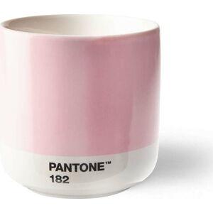 Růžový keramický termo hrnek Pantone Cortado, 175ml