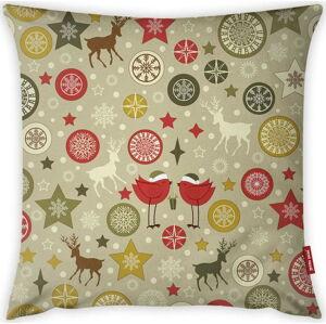 Povlak na polštář Vitaus Christmas Period Cute Pattern, 43 x 43 cm