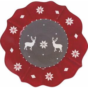Vánoční talíř z dolomitu Villa d'Este Chamonix,ø29cm