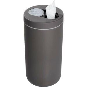 Šedý zásobník na kapesníčky iDesign Clean