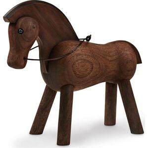 Soška z masivního ořechového dřeva Kay Bojesen Denmark Horse