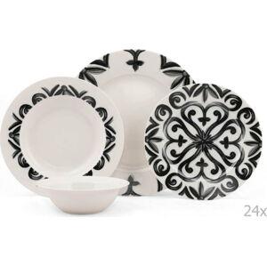 24dílná sada porcelánového nádobí Kutahya Bangio