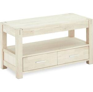 TV stolek z dubového dřeva Furnhouse Texas