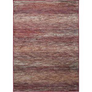 Červený koberec z viskózy Universal Belga Beigriss, 160 x 230 cm