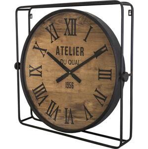 Nástěnné hodiny s rámem Antic Line Industrielle, ø 60 cm