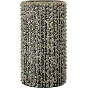 Zelená váza z kameniny Bloomingville Hedgehog