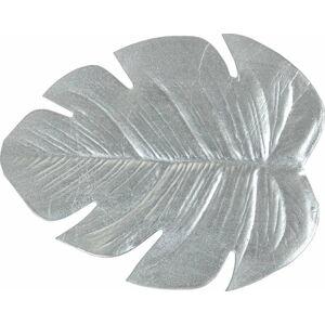 Sada 6 podtácků ve stříbrné barvě Villa d'Este Leaf