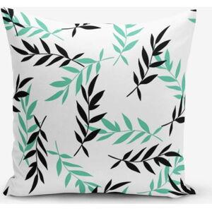 Povlak na polštář s příměsí bavlny Minimalist Cushion Covers Black Tea, 45 x 45 cm