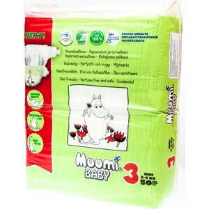 Dětské plenky Muumi Baby Midi, vel. 3, 3 x 50 kusů
