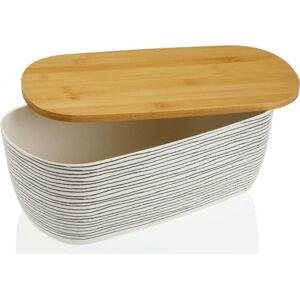 Bambusová uzavíratelná dóza na chleba Versa Lines
