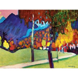Reprodukce obrazu Vasilij Kandinskij - Abstract, 80x60cm