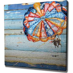Nástěnný obraz na plátně Parachute, 45 x 45 cm