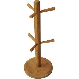 Bambusový stojan na hrnky Bambum Fuchia