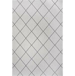 Černo-šedý venkovní koberec Ragami London, 200 x 290 cm