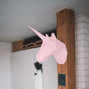 Kreativní sada pro skládání zpapíru Papertime Růžový Jednorožec