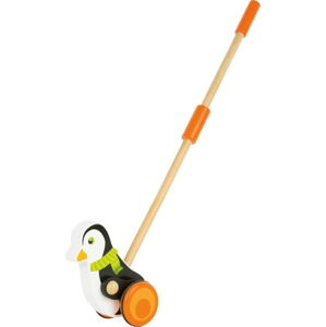 Dřevěná hračka na tyči Legler Animal Penguin