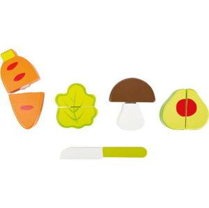 Set dětských dřevěných hraček Legler Vegetable