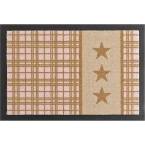 Rohožka Hanse Home Star Plaid Printy, 40 x 60 cm