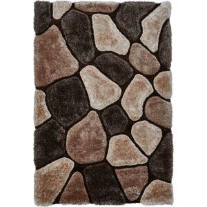 Béžovohnědý ručně vázaný koberec Think Rugs Noble House, 120x170cm