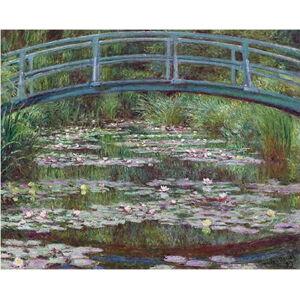 Reprodukce obrazu Claude Monet - The Japanese Footbridge, 50 x 40 cm