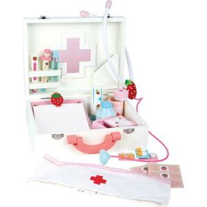 Dětský dřevěný lékařský kufřík Legler Doctor