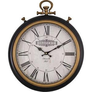 Nástěnné hodiny Antic Line Brasserie Marseille, 41,5 x 51 cm