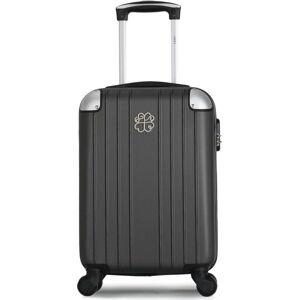 Tmavě šedé skořepinové zavazadlo na 4 kolečkách LPB Amelie, 31l