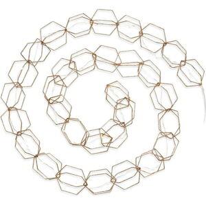Světelný řetěz ve zlaté barvě Markslöjd Serve,délka190cm