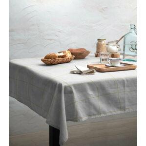 Ubrus Linen Couture Beige Lines, 140 x 140 cm