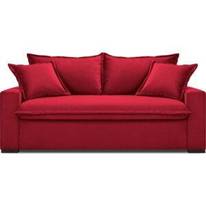 Červená rozkládací pohovka Kooko Home Mezzo