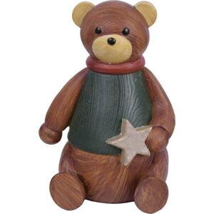 Vánoční dekorace Ego Dekor Teddy Bear, výška 12 cm