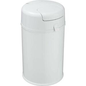 Bílý odpadkový koš na plenky Wenko Secura Premium