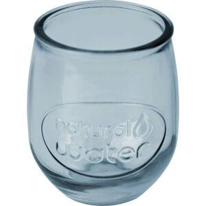 Světle modrá sklenice z recyklovaného skla Ego Dekor Water, 0,4 l