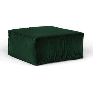 Zelený puf Cosmopolitan Design Florida, 65 x 65 cm