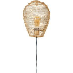 Nástěnné svítidlo ve zlaté barvě White Label Lena