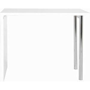 Bílý barový stolek Actona Budgie