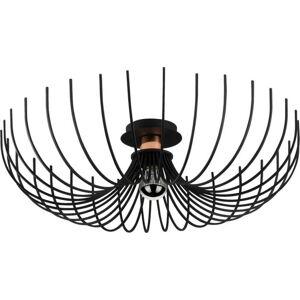 Černé stropní svítidlo Opviq lights Aspendos, ø 56 cm