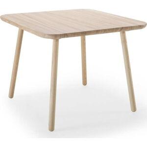 Jídelní stůl z jasanového dřeva EMKO Naïve