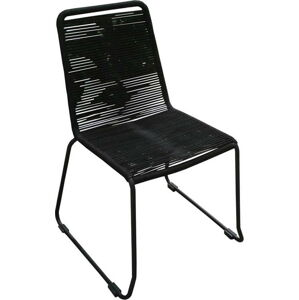 Sada 4 černých zahradních židlí Ezeis Clipper