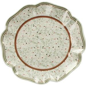 Porcelánový talíř s vánočním motivem Brandani Piatto, ⌀ 31 cm
