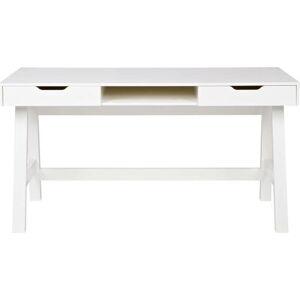 Bílý psací stůl WOOOD Nikki