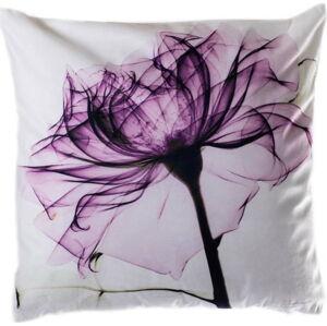 Polštář JAHU Purple Tulip, 45 x 45 cm