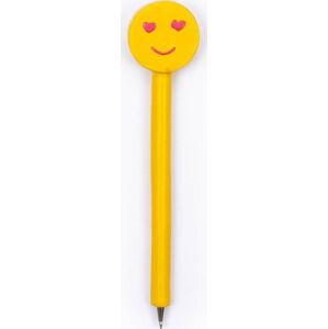 Žluté pero v dárkové krabičce Tri-Coastal Design Smile