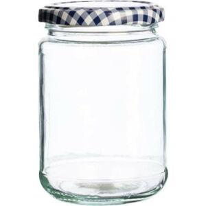Skleněná zavařovací sklenice Kilner Round, 370ml