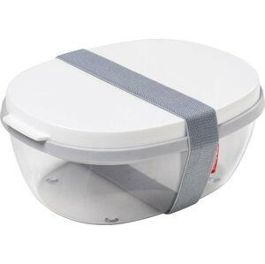Salátový box s bílým víkem Rosti Mepal Ellipse