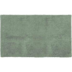 Zelená bavlněná koupelnová předložka Tiseco Home Studio Luca,60x100cm
