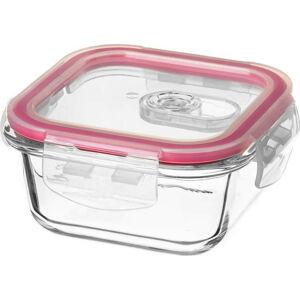 Obědový box ze skla s uzávěrem Unimasa, 11,5x11,5cm