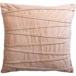 Béžový dekorativní polštář JAHU collections Ella,45x45cm